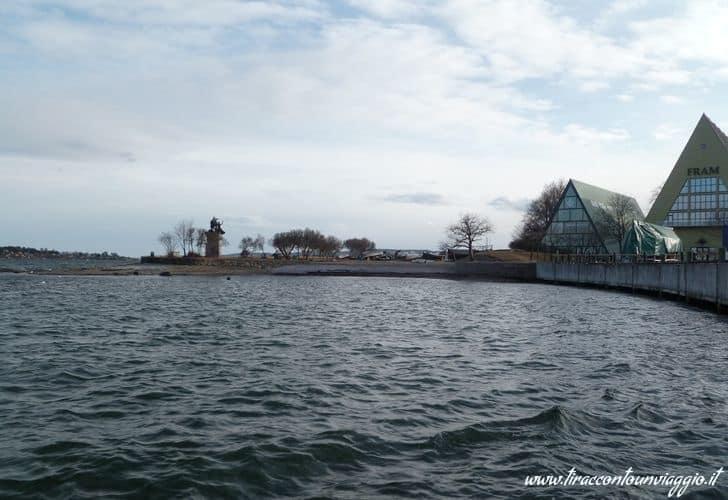 Penisola_ Bygdoy_oslo_norvegia_case_porto_museo_fram