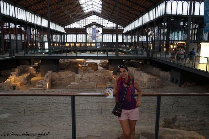 Centro_El Born_mercato_Barcellona_sito_archeologico