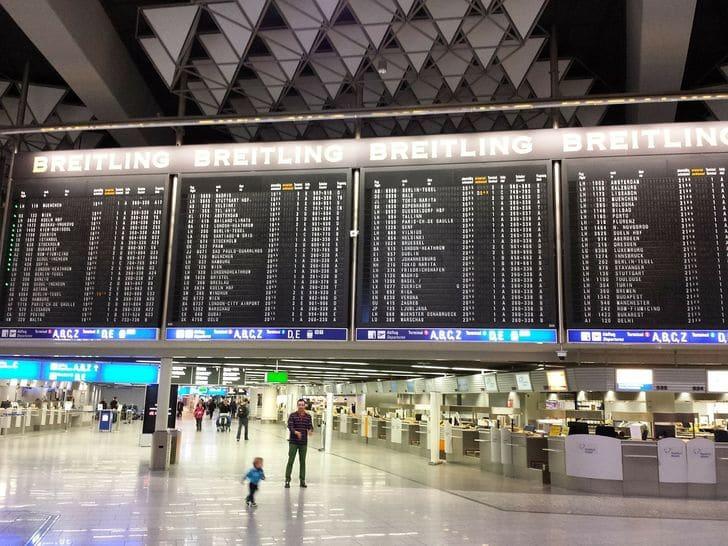 Ankunft Flughafen Hahn