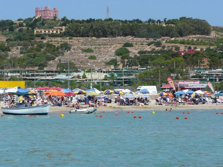 mellieha_bay_malta_spiaggia