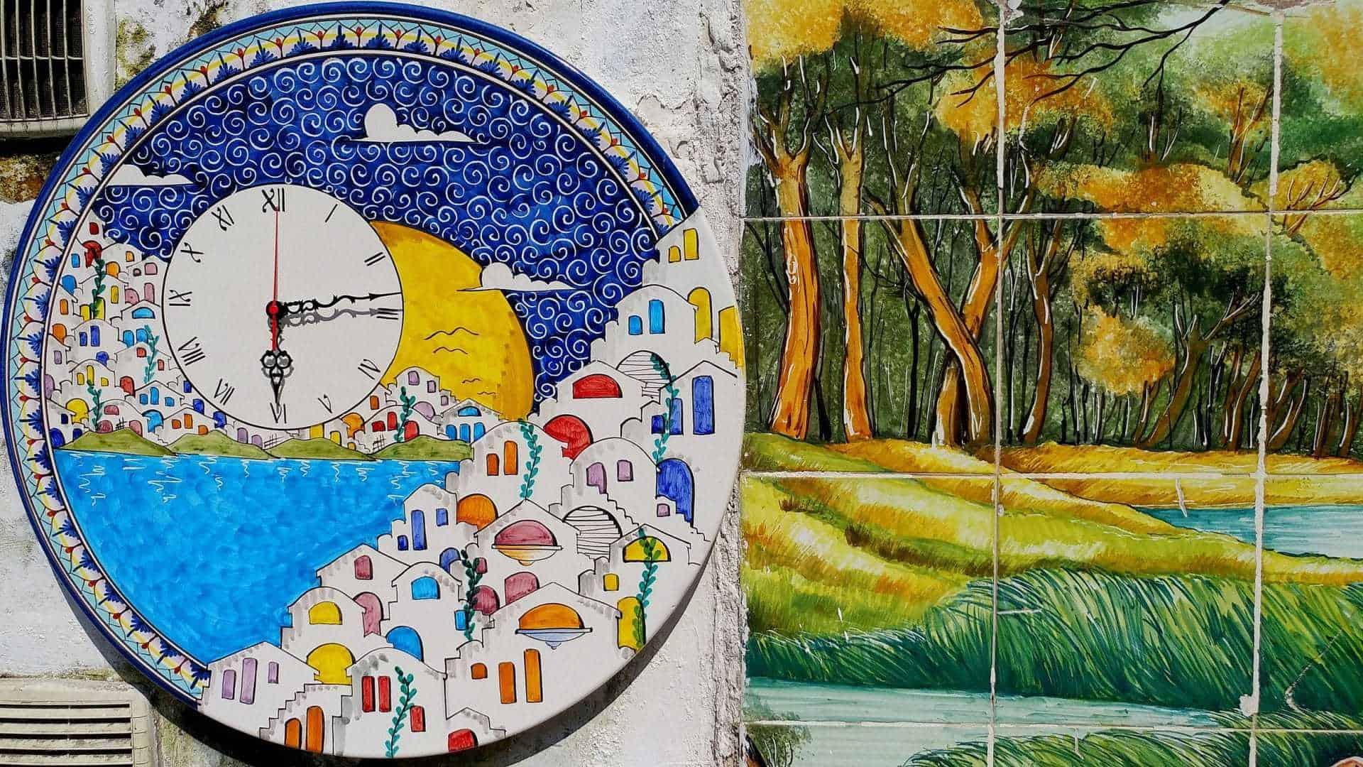 Vietri sul mare la tradizione della ceramica in costiera - Ceramiche di vietri piastrelle ...